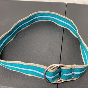 Blue/ Green/ Tan Belt